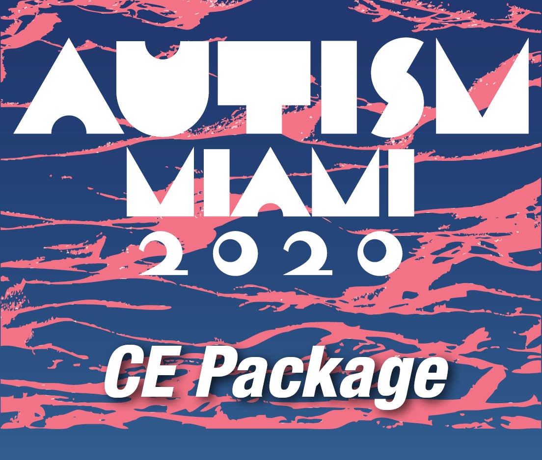 a square graphic representing CE Package for Qualifying 2020 Autism Events