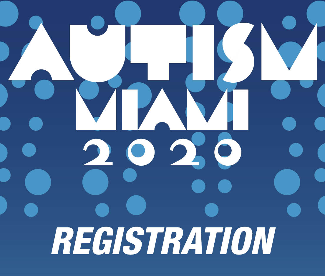 a square graphic representing Autism Conference 2020 Registration - Miami, FL.