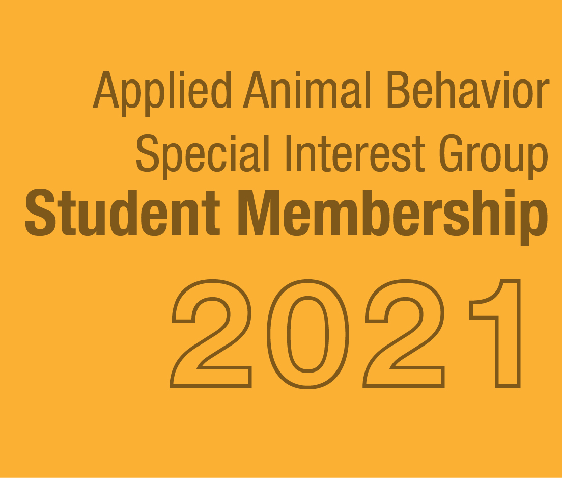 a square graphic representing AAB SIG Student Membership - 2021