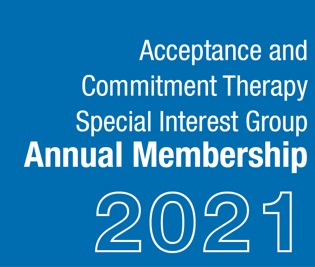 a square graphic representing 2021 ACT SIG Membership.