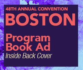 a square graphic representing Program Book: Inside back cover, Annual 2022