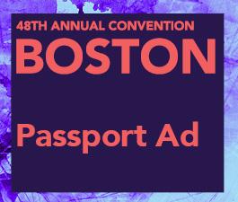 a square graphic representing Passport Ad, Annual 2022