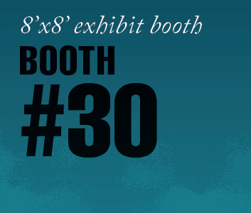 a square graphic representing Standard Exhibit Booth 30, Autism Conference 2022