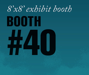 a square graphic representing Standard Exhibit Booth 40, Autism Conference 2022