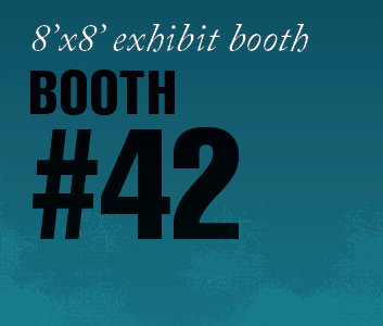 a square graphic representing Standard Exhibit Booth 42, Autism Conference 2022