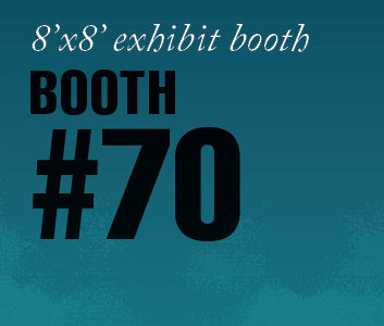 a square graphic representing Standard Exhibit Booth 70, Autism Conference 2022