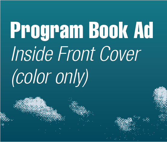 a square graphic representing Program Book Ad-Inside Front Cover Color Only, Autism Conference 2022