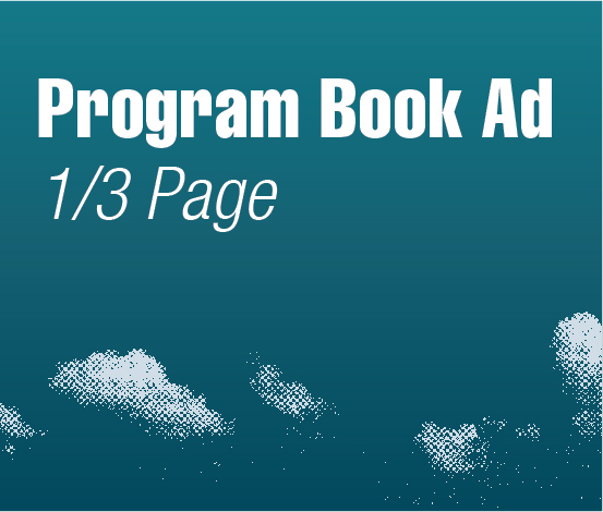 a square graphic representing Program Book Ad - 1/3 Page, Autism Conference 2022