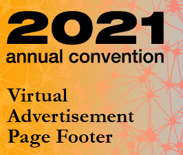 A small picture representing Annual Convention 2021 Virtual Advertisement - Page Footer