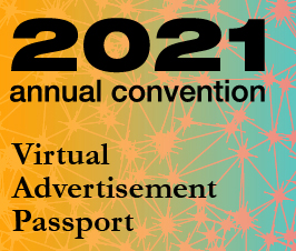 A small picture representing Annual Convention 2021 Virtual Advertisement - Passport