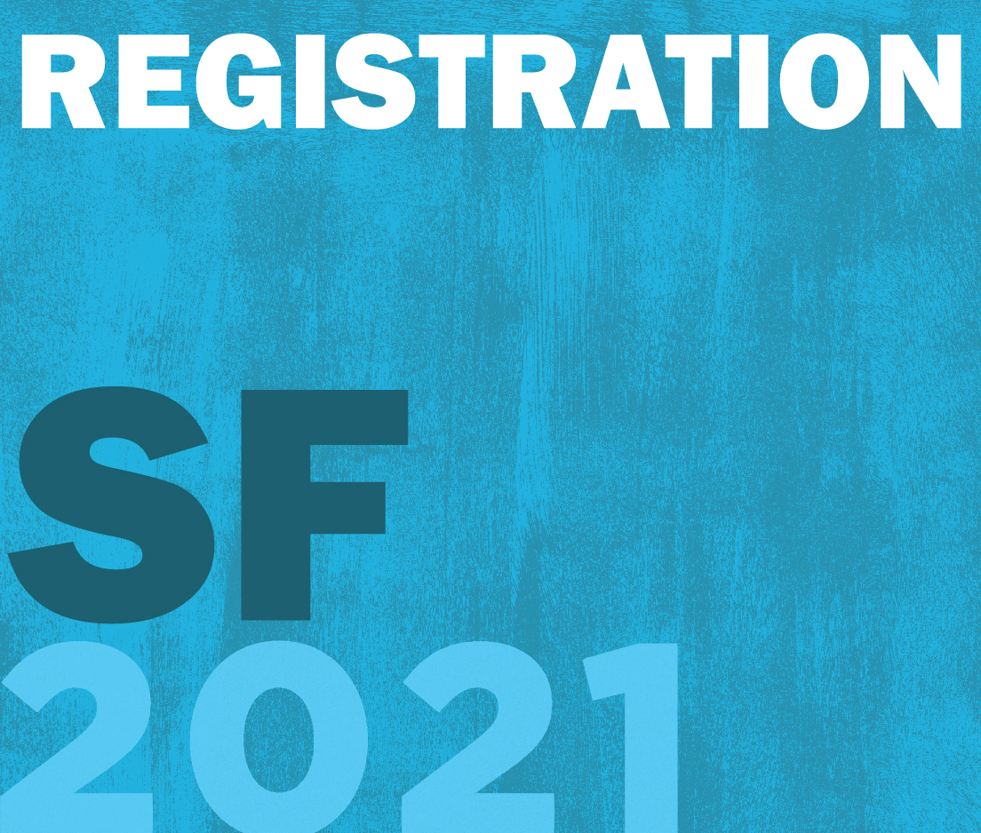 a square graphic representing Annual Convention 2021 Registration. FULL - San Francisco, CA. (May 29th, 30th, and 31st. Also Includes Friday May, 28th Opening Address, Student Welcome Reception, and ABAI Expo)