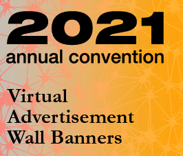 A small picture representing Annual Convention 2021 Virtual Advertisement - Wall Banners
