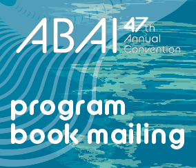 a square graphic representing 2021 Annual Convention Program Book Mailed