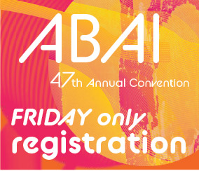 a square graphic representing Annual Convention 2021 Registration. FRIDAY MAY 28TH ONLY