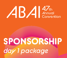 a square graphic representing Annual 2021 Day 1 (Friday, May 28 ) Package Sponsorship