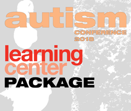 a square graphic representing 2018 Autism Video Package. Presentations plus 9 CEs.