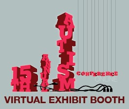 a square graphic representing Autism Conference 2021 Virtual Exhibit Booth