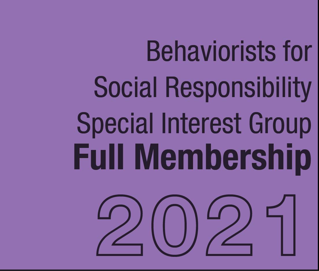 a square graphic representing BFSR SIG Full Membership - 2021