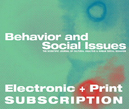 a square graphic representing Behavior and Social Issues - 1 Year (Print and Electronic)