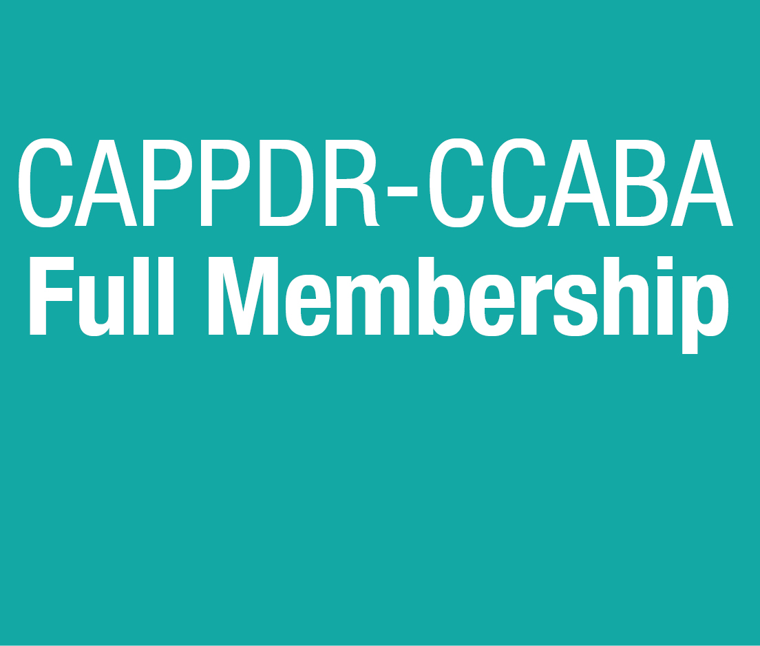 a square graphic representing CCABA 2019 Membership Full 2019