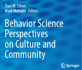 a square graphic representing Behavior Science Perspectives on Culture and Community (Hardcover)