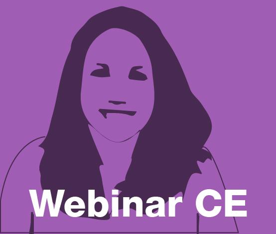 a square graphic representing Webinar CE for Nicole Gravina.