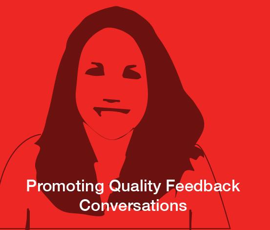 a square graphic representing ABAI Webinar: Promoting Quality Feedback Conversations