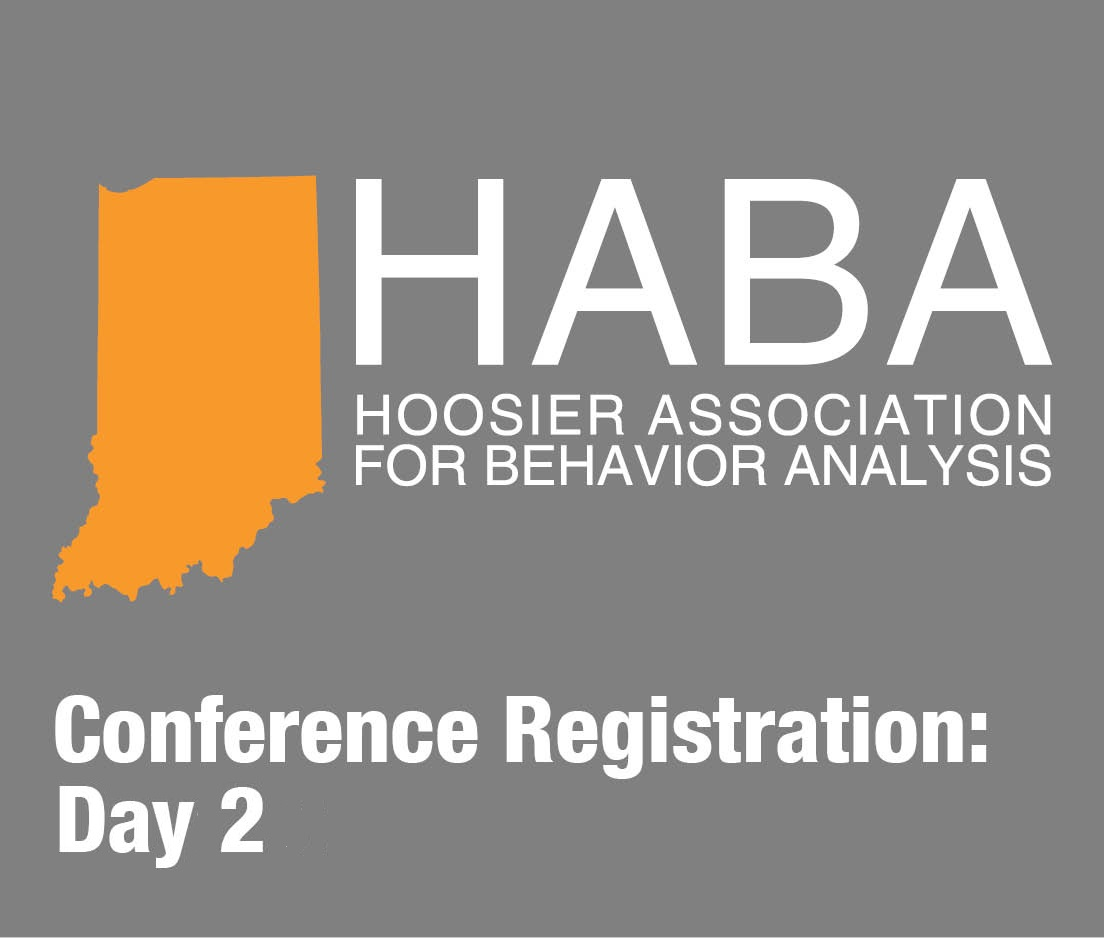 a square graphic representing HABA 2019 conference for 2 days