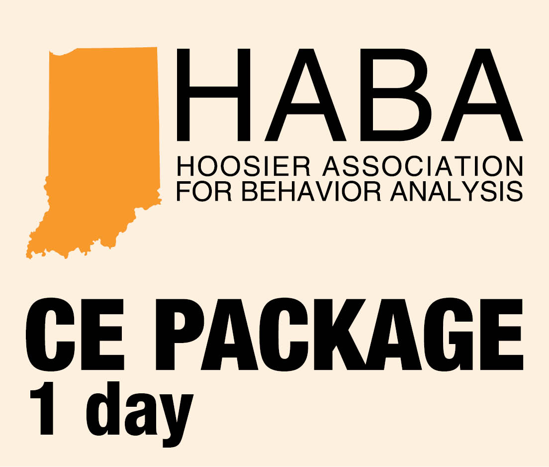 a square graphic representing HABA CEUs for 1 day