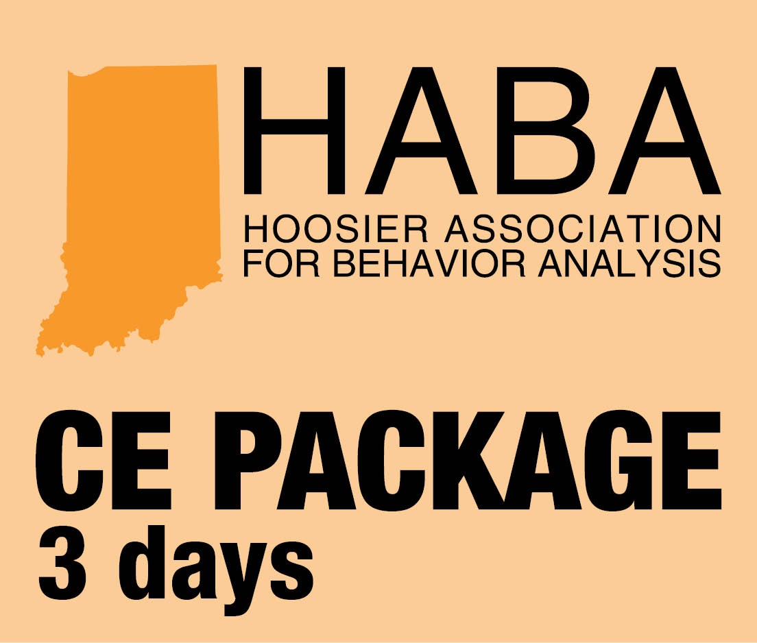 a square graphic representing HABA CEUs for 3 day