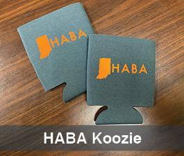 a square graphic representing HABA Koozie