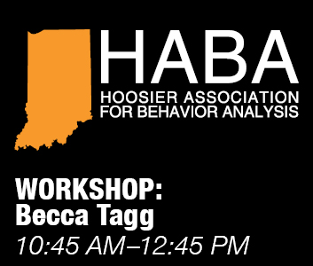 a square graphic representing HABA Annual Conference 2021 Workshop 2 ($35 workshop) 10:45 AM-12:45 PM: Becca Tagg: Toolkit for Early Career Professionals: Building your Blueprint (2 General CEUs)