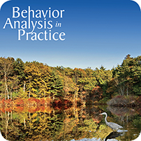 Behavior Analysis in Practice Vol. 7 (Spring and Fall, 2014) Subscription PRINT and ELECTRONIC VERSION