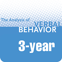 a square graphic representing TAVB: The Analysis of Verbal Behavior - 3 Years (Electronic)