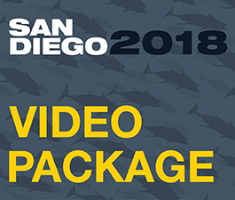 a square graphic representing 2018 Annual Convention Video Package. Presentations plus 22 CEs.