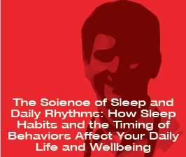 a square graphic representing ABAI Webinar: The Science of Sleep and Daily Rhythms
