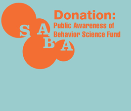 a square graphic representing Public Awareness of Behavior Science Fund