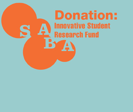 a square graphic representing Innovative Student Research Fund