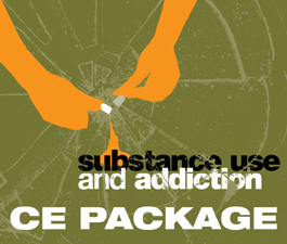 a square graphic representing CE Package for all qualifying 2018 Substance Use Events