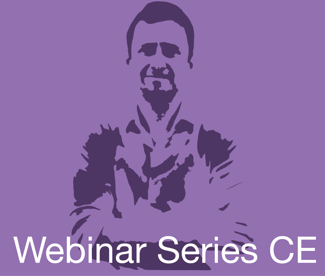 a square graphic representing Webinar CE for Shawn Gilroy.