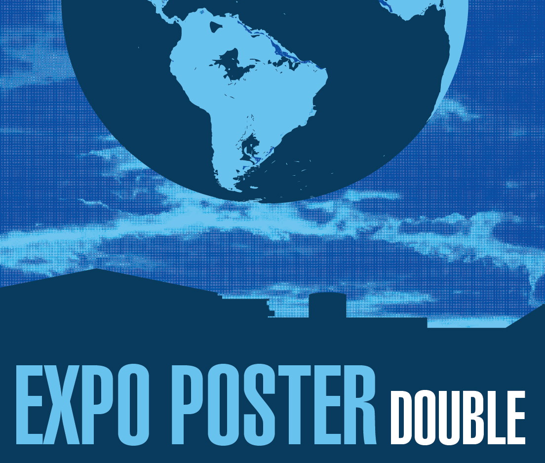 a square graphic representing Expo Poster at the 2021 Annual Convention (Double Poster)
