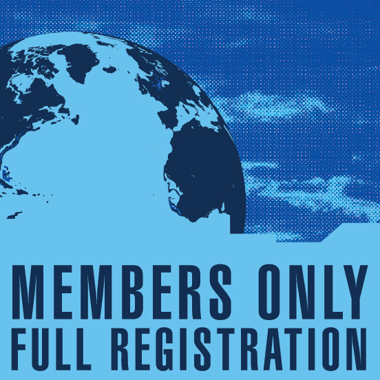 a square graphic representing Annual Convention 2020 Registration. FULL Registration with ABAI Affiliate Membership Included.