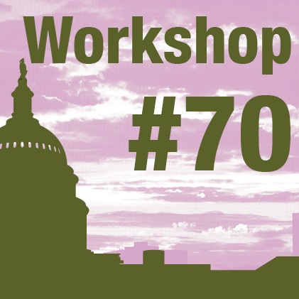 a square graphic representing 2020 Annual Workshop 70. Using Mentorship to Improve Retention and Decrease Burnout