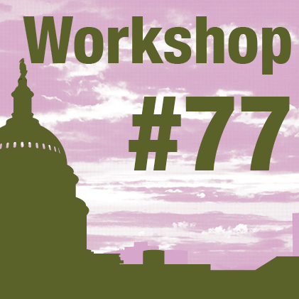 a square graphic representing 2020 Annual Workshop 77. Help Me Help You: Key Strategies for Developing Effective Parent Training Systems